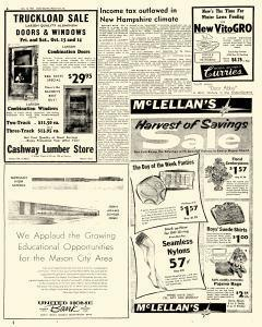 Mason City Globe Gazette, October 12, 1961, Page 6