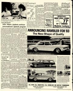 Mason City Globe Gazette, October 04, 1962, Page 5