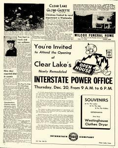 Mason City Globe Gazette, December 18, 1962, Page 20