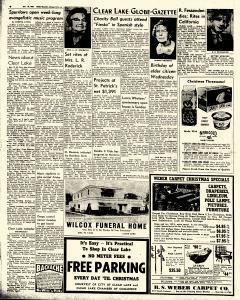 Mason City Globe Gazette, December 10, 1963, Page 6