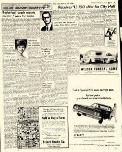 Mason City Globe Gazette, January 19, 1965, Page 4