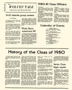 Milford Mail and Terril Record, May 15, 1980, Page 20