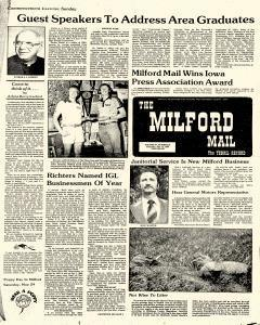 Milford Mail And Terril Record, May 15, 1980, Page 1