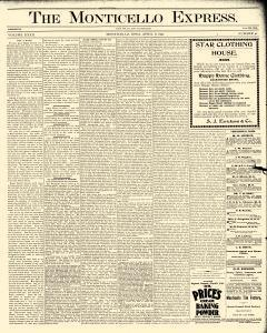 Monticello Express, April 08, 1897, Page 1