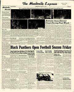 Monticello Express, September 13, 1951, Page 1