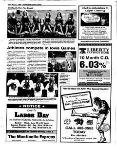 Monticello Express, August 21, 1996, Page 19