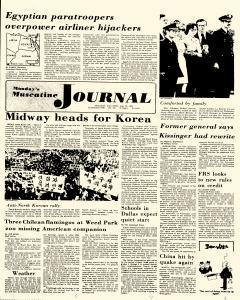 Muscatine Journal newspaper archives