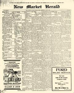 New Market Herald, June 12, 1930, Page 1