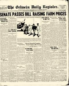 Oelwein Daily Register, February 25, 1943, Page 1