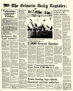 Oelwein Daily Register, February 10, 1972, Page 1