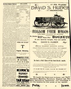Pella Weekly Herald, August 23, 1892, Page 4
