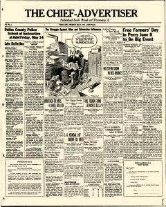 Perry Chief Advertiser, May 06, 1937, Page 1
