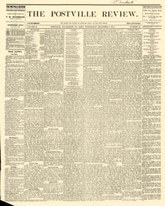 Postville Review, December 09, 1874, Page 1