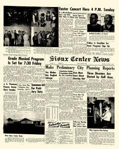 Sioux Center News, March 31, 1966, Page 1