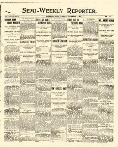 Semi Weekly Reporter, November 01, 1904, Page 1