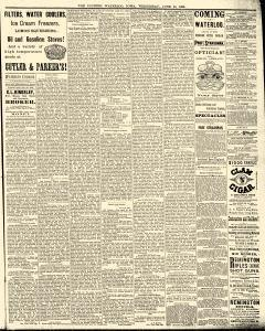 Waterloo Courier, June 30, 1886, Page 5