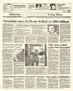 Waterloo Courier, September 10, 1984, Page 1