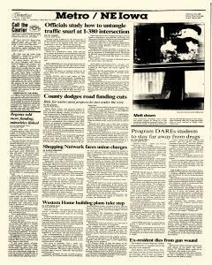 Waterloo Courier, February 18, 1988, Page 4
