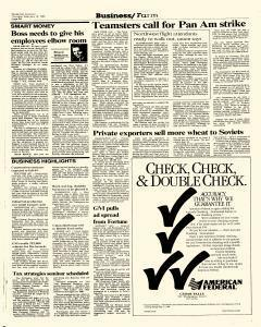 Waterloo Courier, February 18, 1988, Page 22