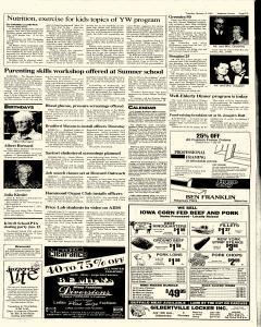 Waterloo Courier, January 08, 1991, Page 21