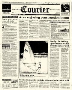 Waterloo Courier, July 01, 1992, Page 1