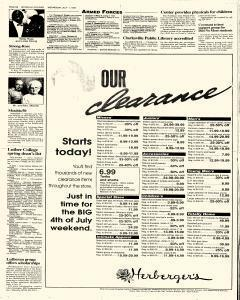 Waterloo Courier, July 01, 1992, Page 16