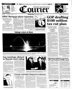 Waterloo Courier, December 04, 1996, Page 1