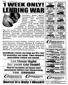 Waterloo Courier, March 14, 2005, Page 22