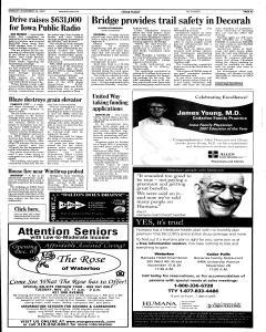Waterloo Courier, November 26, 2007, Page 7
