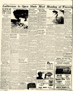 Waterloo Daily Courier, May 29, 1949, Page 12