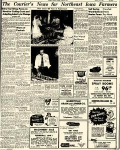 Waterloo Daily Courier, May 29, 1949, Page 15