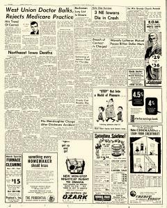 Waterloo Daily Courier, March 28, 1966, p. 8