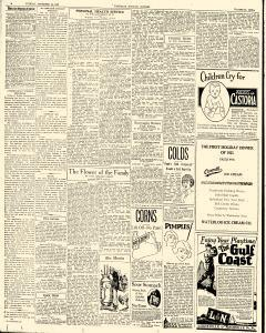 Waterloo Evening Courier, December 30, 1924, Page 4