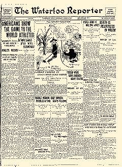 Waterloo Reporter, July 06, 1912, Page 1