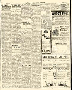 Waterloo Times Tribune, March 09, 1909, Page 8