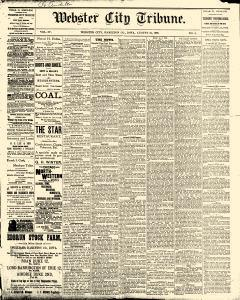 Webster City Tribune, August 24, 1888, Page 1