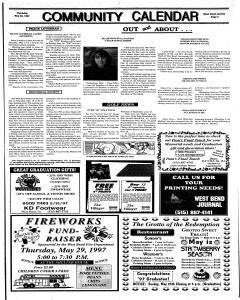 West Bend Journal, May 22, 1997, Page 3