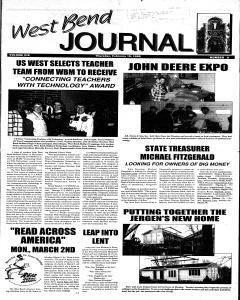 West Bend Journal, February 19, 1998, Page 1