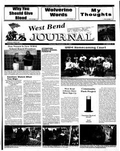 West Bend Journal, September 25, 2003, Page 1
