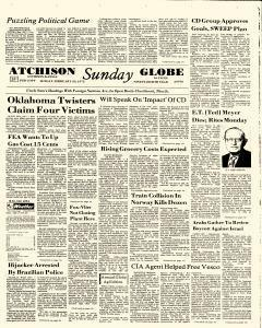 Atchison Daily Globe, February 23, 1975, Page 1