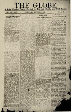 Atchison Globe, December 11, 1877, Page 1