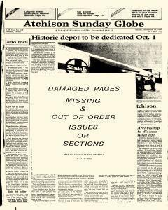 Atchison Globe, September 16, 1988, Page 1
