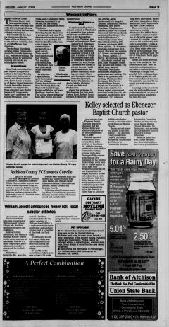 Atchison Globe, June 27, 2009, Page 9
