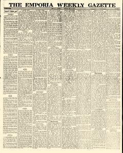 Emporia Weekly Gazette, May 26, 1927, Page 1
