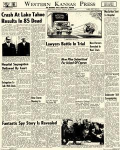 Western Kansas Press, March 03, 1964, Page 1