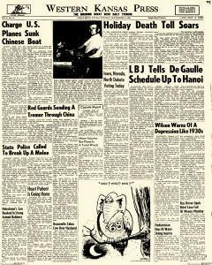 Western Kansas Press, September 06, 1966, Page 1