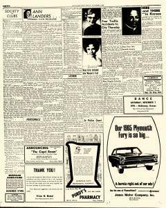 Hays Daily News, November 06, 1964, Page 4