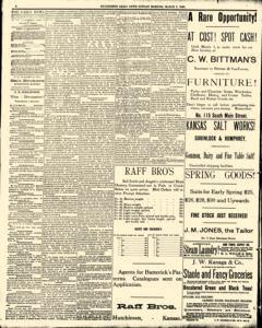 Hutchinson News, March 02, 1890, Page 2