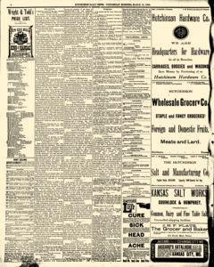 Hutchinson News, March 12, 1890, Page 3