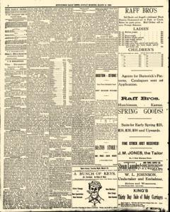Hutchinson News, March 16, 1890, Page 2